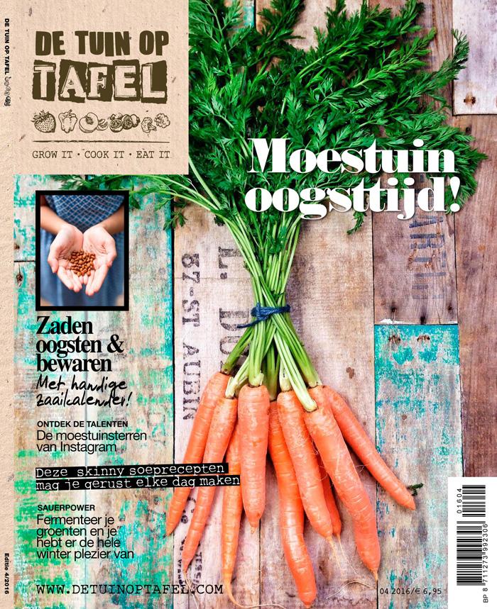 De Tuin op Tafel editie 4 van 2016