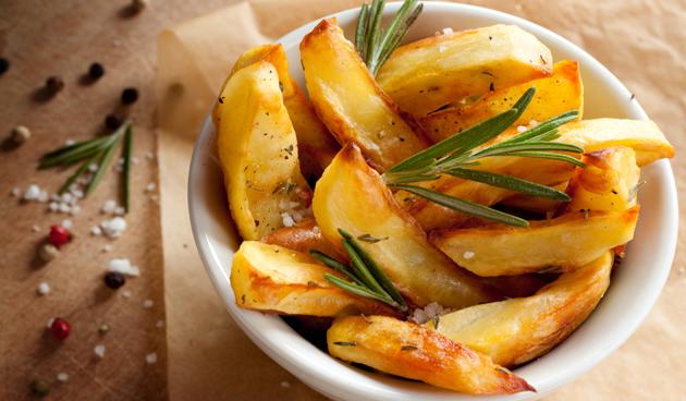 Aardappeltjes met rozemarijn