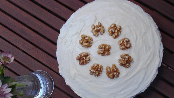 Recept carrotcake met frosting