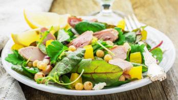 Recept zomerse salade met snijbiet