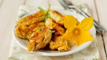 Recept beignets van courgettebloemen
