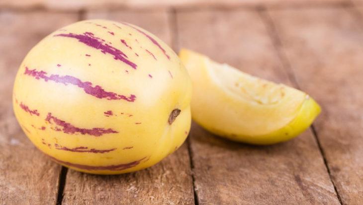 Pepino of meloenpeer kweken