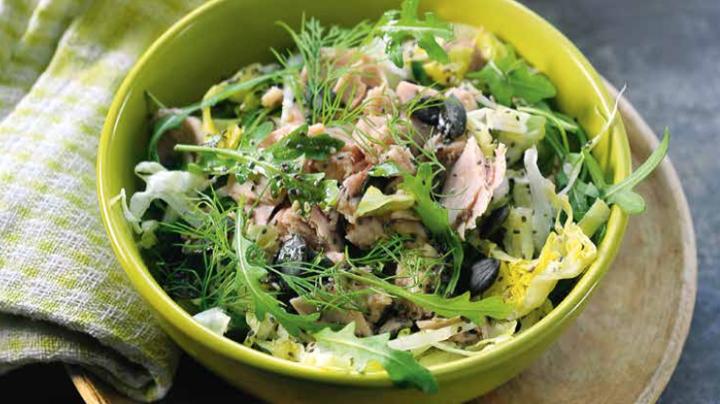 Snelle tonijnsalade