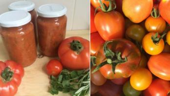 Tomatensaus van Floor