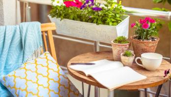 Fleur je balkon, terras of tuin op en vier Pasen buiten!