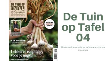 Nieuw: De Tuin op Tafel 04-2019