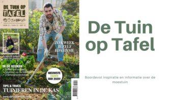 Nieuw: De Tuin op Tafel 01-2020