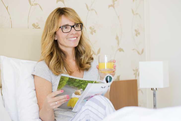 Tijdschrift lezen ontspannen Moederdag cadeau
