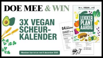 Win! Vegan Scheurkalender